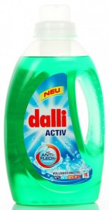 DALLI Active - Uniwersalny płyn do prania - 1,35l