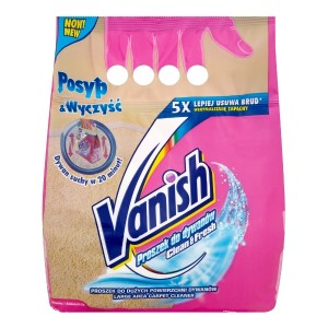VANISH -  Proszek do dywanów Clean&Fresh 650g