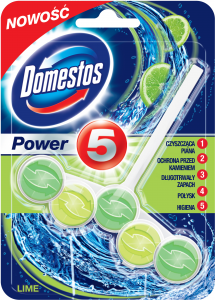 Domestos - Kostka WC Power 5 Lemon