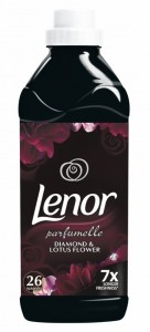 LENOR - Płyn do płukania DAIMOND & LOTUS FLOWER 780ml - 26 prań