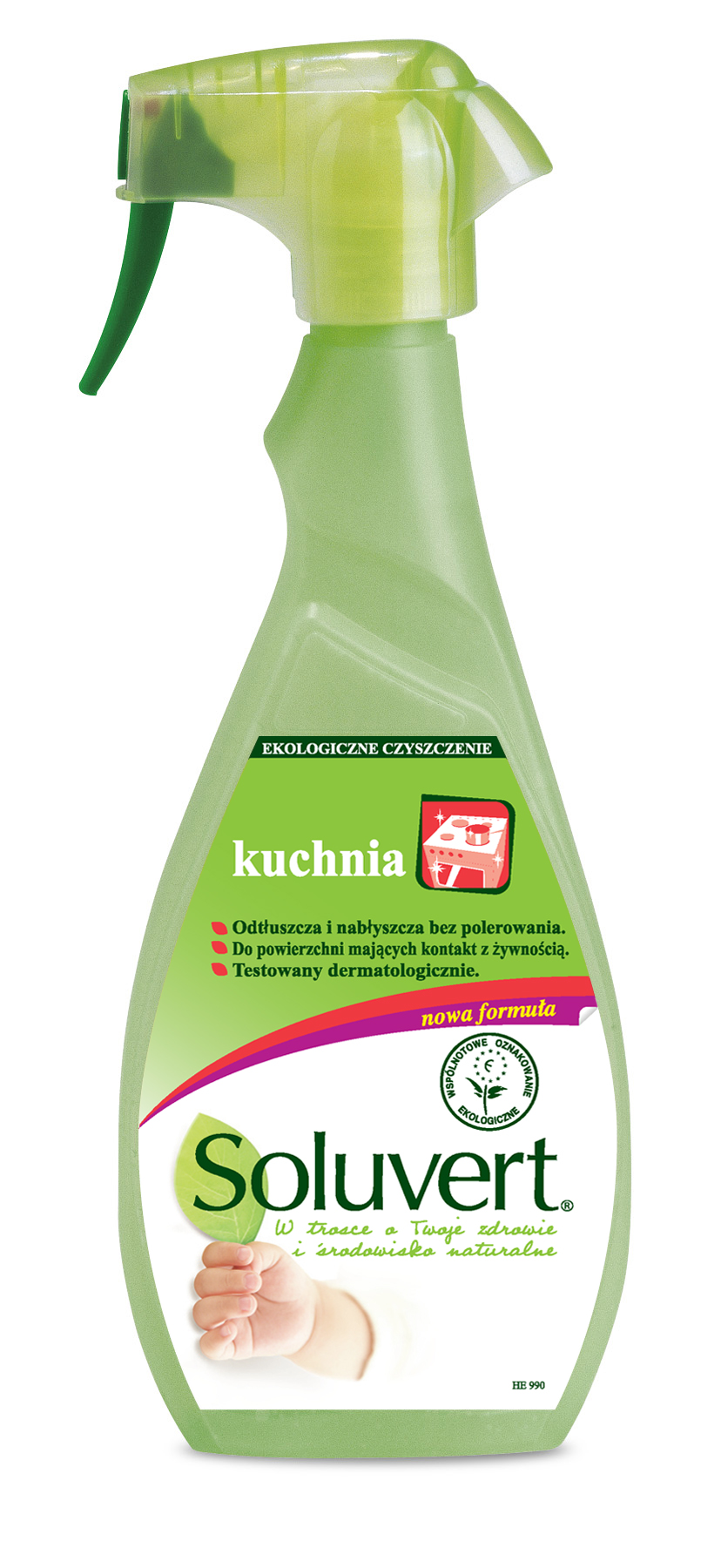 Soluvent The Ecological Degreaser For Kitchen Surface 500ml